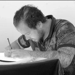 tatoeage artiest Roel Bij de Vaate